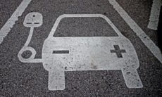 Electric charging points