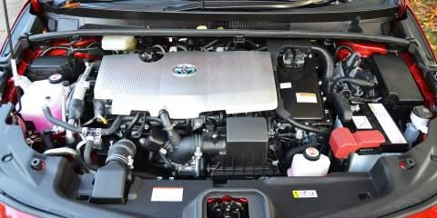 Prius engine