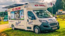 Ice cream EV powered