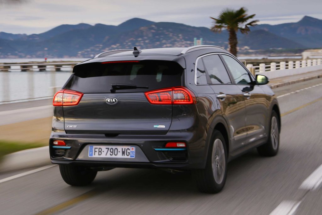 Kia e Niro back view