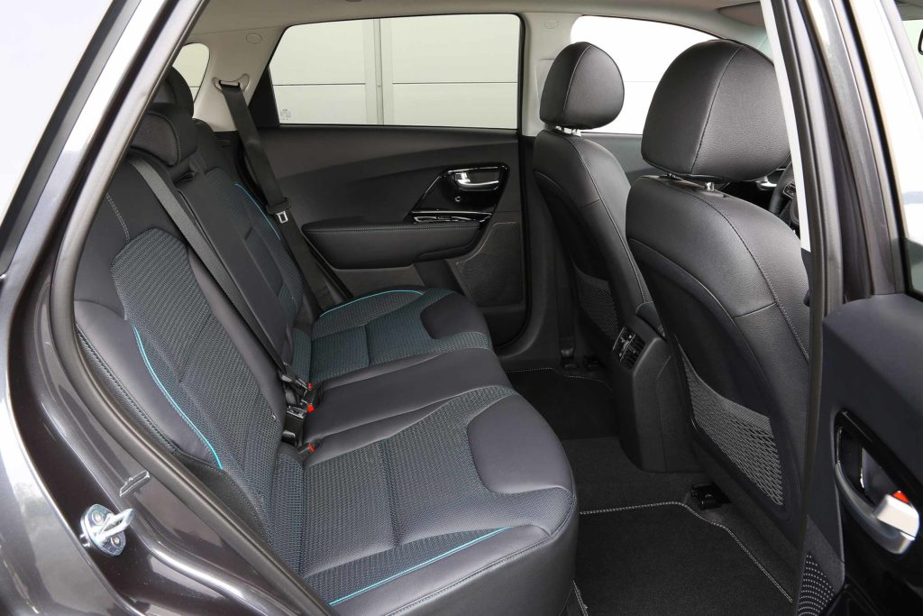 Kia e Niro back seats