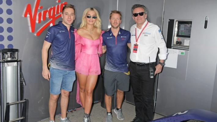 Rita Ora Attends The ABB FIA Formula E Antofagasta Minerals Santiago E-Prix