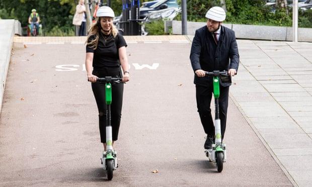 escooters in Milton Keynes