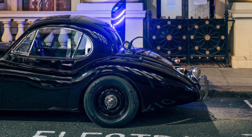 Jaguar XK120 electric