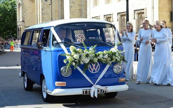 Ellie Goulding Wedding Camper Van