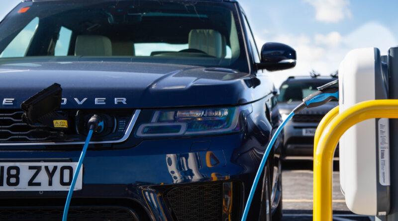 Range Rover Charging