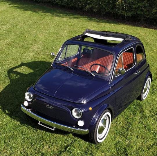 Dev Patel Fiat500 electric conversion