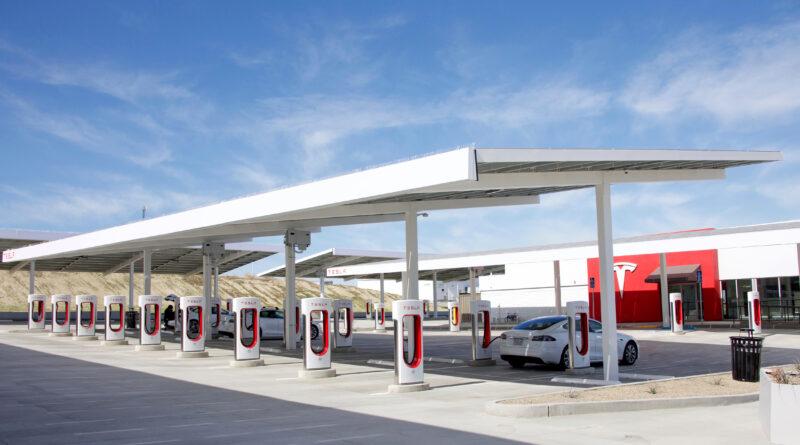 Tesla charging rates
