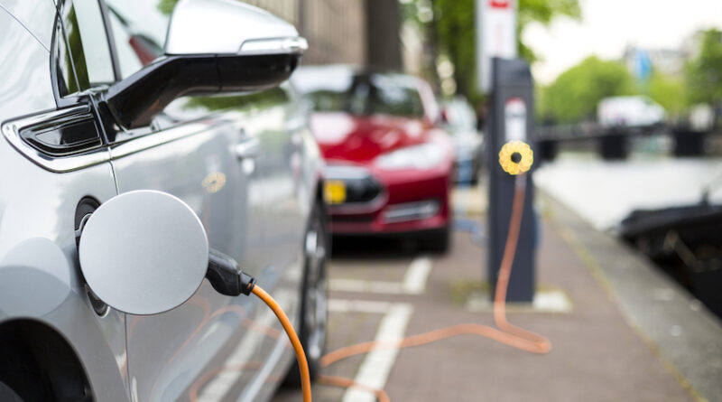 electric street charging