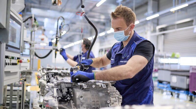 BMW Group e-drive production