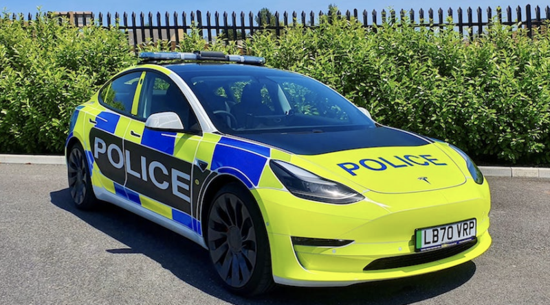 Tesla Model 3 Emergency services