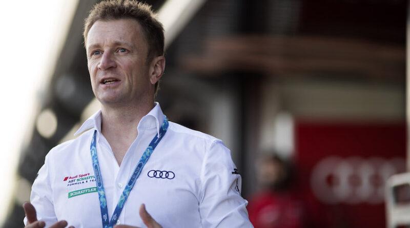 Allan McNish Audi Sport ABT Schaeffler
