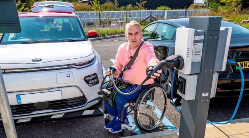 Motability Designability EV public charging