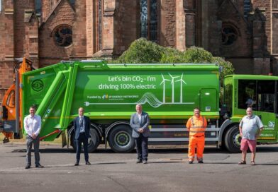 SP Energy Networks electric bin lorry