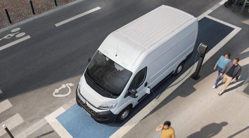 Citroën ë-Relay LCV van