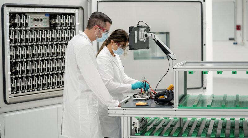 Volkswagen Salzgitter Battery Plant