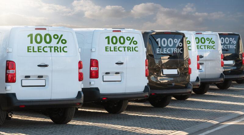 electric vans charging