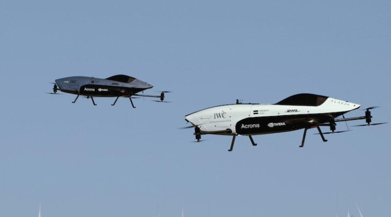 Airspeeder dual flights
