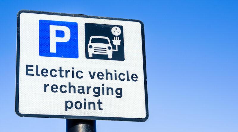 ev charging point bay UK